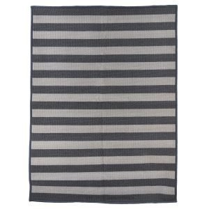 House Doctor Stripe Ovimatto Harmaa 60x90 Cm