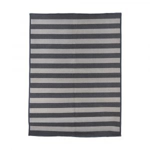 House Doctor Stripe Ovimatto Harmaa 90x120 Cm