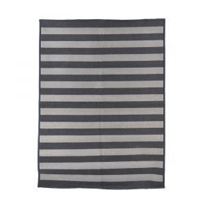 House Doctor Stripe Ovimatto Harmaa 90x200 Cm