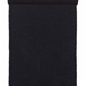Jotex Accera Puuvillamatto Musta 70x150 Cm