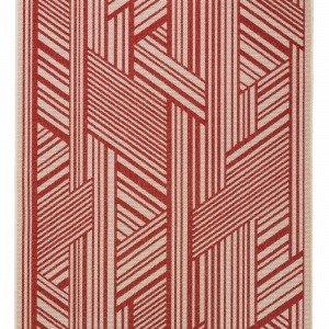 Jotex Buccino Bukleematto Punainen 200x300 Cm