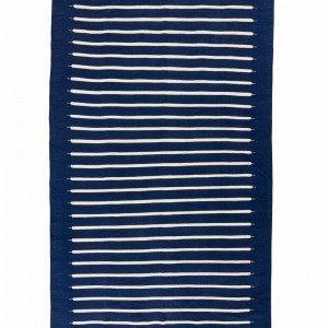 Jotex Gila Puuvillamatto Sininen 160x300 Cm
