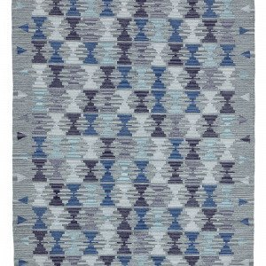 Jotex Pado Puuvillamatto Sininen 140x200 Cm