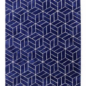 Jotex Picolo Matto Tuftattu Sininen 300x400 Cm