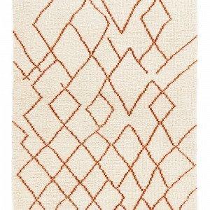 Jotex Rotello Villamatto Oranssi 160x230 Cm