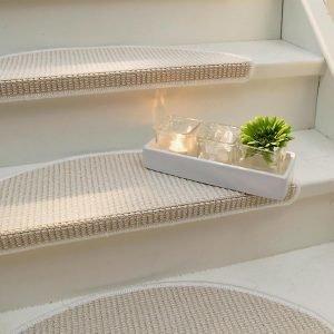 Jotex Stairs Porrasmatot Valkoinen 2-Pakkaus