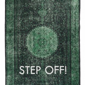 Jotex Step Off Puuvillamatto Vihreä