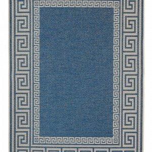 Jotex Vieste Bukleematto Sininen 135x195 Cm