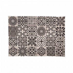 Julia Blunt Puuvillamatto Musta 160x230 Cm