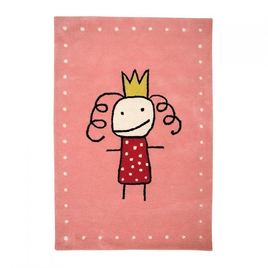 Kateha Prinsessa Matto 120x180 Cm Pink