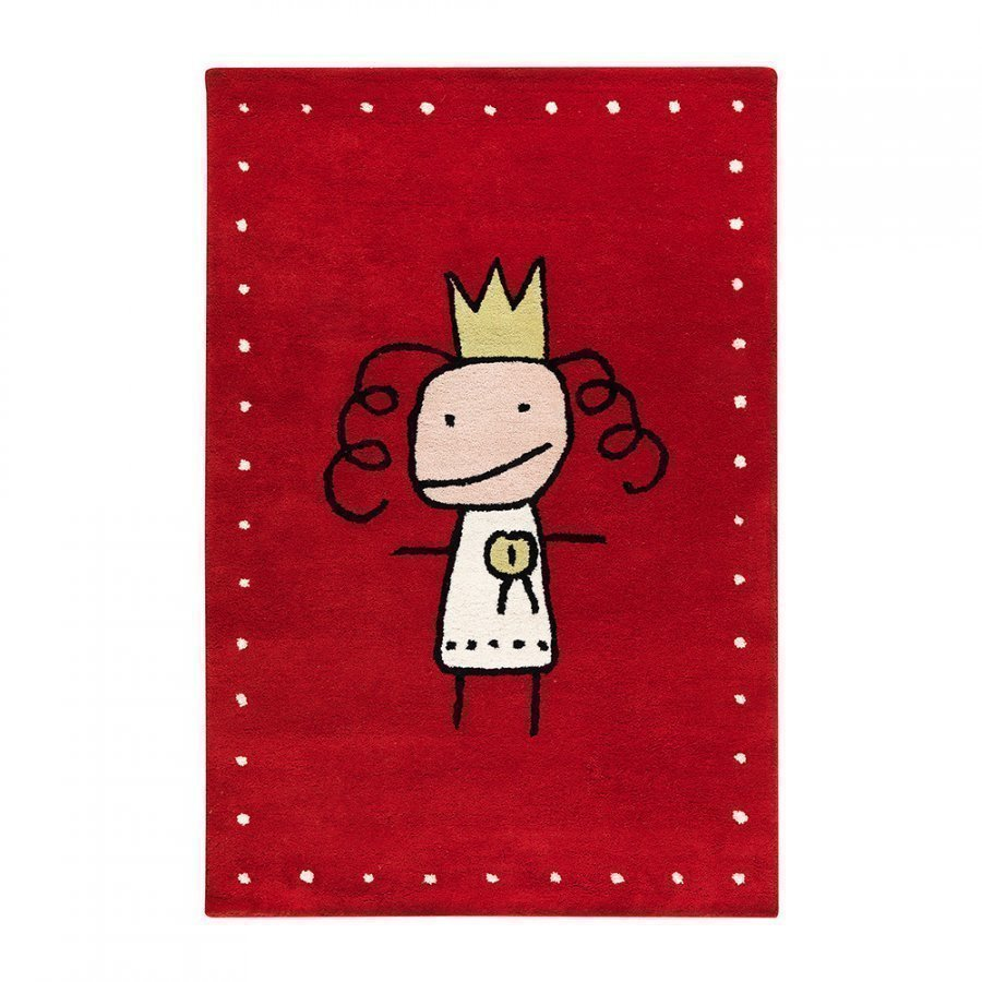 Kateha Prinsessa Matto 120x180 Cm Red Limited Edi