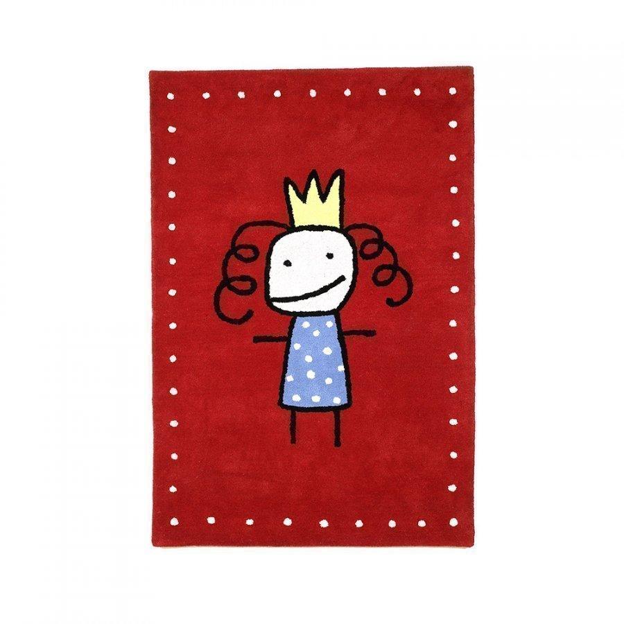 Kateha Prinsessa Matto 120x180 Cm Red