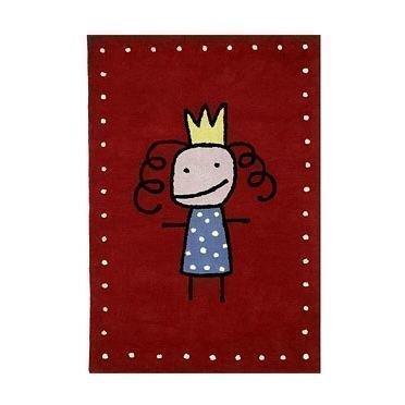 Kateha Tiny Matto Punainen Prinsessa