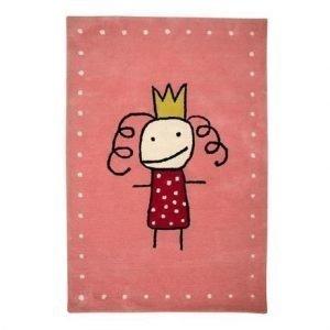 Kateha Tiny Matto Vaaleanpunainen Prinsessa