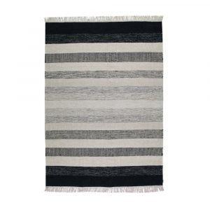 Kateha Tofta Wave Matto Black / White 170x240 Cm
