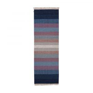 Kateha Tofta Wave Matto Blue 80x250 Cm
