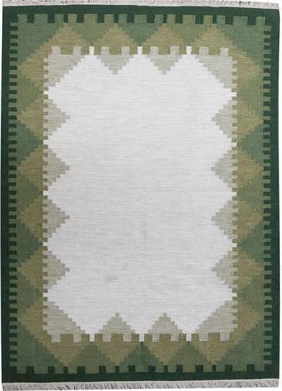 Kelim-matto Sevilen 70x140 cm vihreä