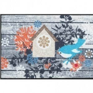 Kleen-Tex Matto Birdies House 50x75 Cm
