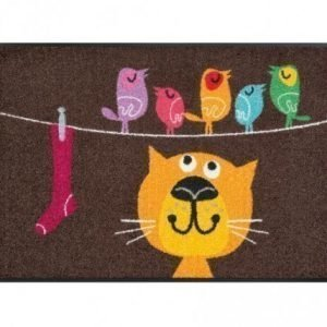 Kleen-Tex Matto Birds On Wire 50x75 Cm