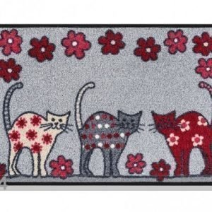 Kleen-Tex Matto Cat Parade 50x75 Cm