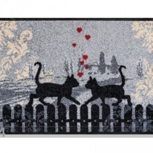 Kleen-Tex Matto Cats In Love 50x75 Cm