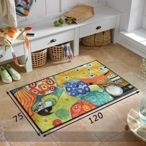 Kleen-Tex Matto Clour Fantasy With Parrot 75x120 Cm