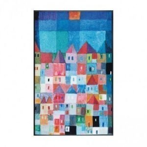 Kleen-Tex Matto Colourful Houses 75x120 Cm