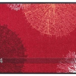 Kleen-Tex Matto Firework Red 50x75 Cm