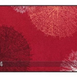 Kleen-Tex Matto Firework Red 75x120 Cm