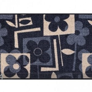 Kleen-Tex Matto Flourish Grey 50x75 Cm