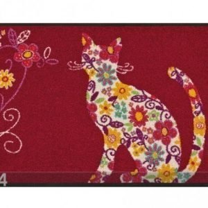 Kleen-Tex Matto Flower Cat 50x75 Cm