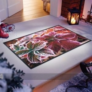 Kleen-Tex Matto Frozen Leaves 50x75 Cm