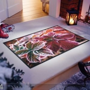 Kleen-Tex Matto Frozen Leaves 75x120 Cm