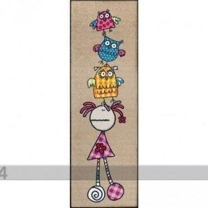 Kleen-Tex Matto Fulanitos Floripondia & Owls 60x180 Cm