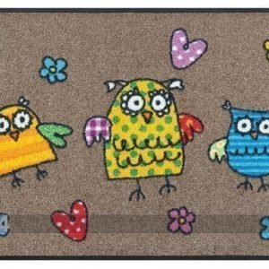 Kleen-Tex Matto Fulanitos Owls 50x75 Cm