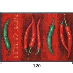 Kleen-Tex Matto Hot Chili 75x120 Cm