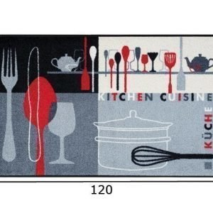 Kleen-Tex Matto Kitchen Crockery 75x120 Cm