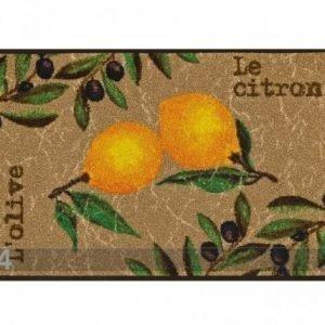Kleen-Tex Matto Le Citron 50x75 Cm