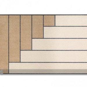 Kleen-Tex Matto Linear Sand 75x120 Cm