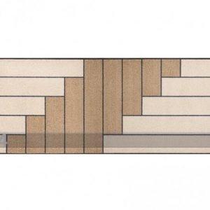 Kleen-Tex Matto Linear Sand 75x190 Cm