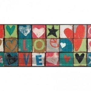 Kleen-Tex Matto Love Letters 75x190 Cm