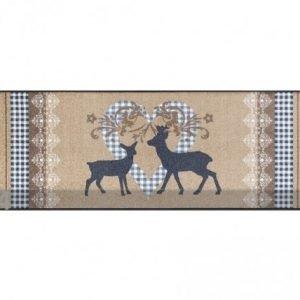 Kleen-Tex Matto Lovely Deers 60x180 Cm