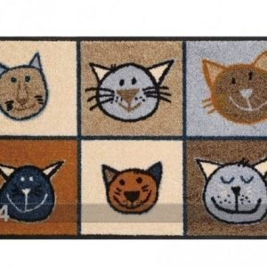 Kleen-Tex Matto Miau Miau 50x75 Cm
