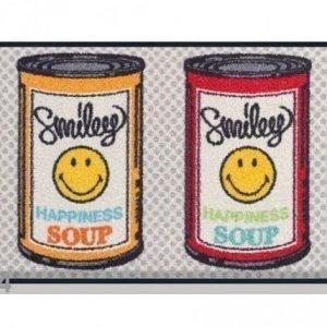 Kleen-Tex Matto Smiley Happiness Soup 50x75 Cm