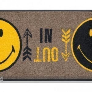 Kleen-Tex Matto Smiley In Out 40x60 Cm