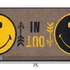 Kleen-Tex Matto Smiley In Out 50x75 Cm