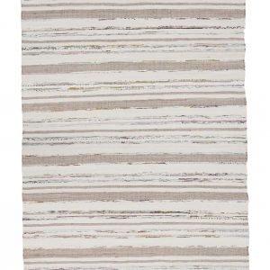 Koodi Aurora Puuvillamatto Rosa / Beige 80x300 Cm