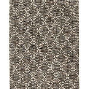 Koodi Inari Puuvillamatto Musta 70x140 Cm