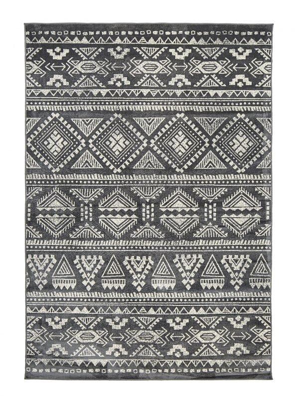 Koodi Inka Viskoosimatto Harmaa 160x230 Cm