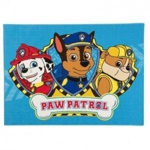 Lastenmatto 95x133 Cm Paw Patrol